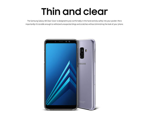 Galaxy A8 Clear View Cover