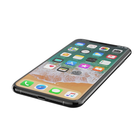 BELKIN SCREENFORCE TEMPERED CURVE SCREEN PROTECTION FOR  IPHONE X, BLACK, 2YR WTY