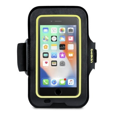 BELKIN SPORT-FIT ARMBAND FOR IPHONE 8/7/6S/6S PLUS,2 YR WTY