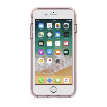 BELKIN SHEERFORCE PROTECTIVE CASE FOR  IPHONE 8/7 PLUS, ROSE GOLD, 2YR WTY
