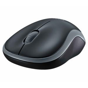 LOGITECH M185 WIRELESS MOUSE - GREY - 3YR WTY