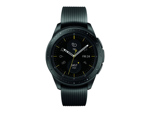 Galaxy Watch - BT 42mm Watch Face, 20mm Band - Midnight Black