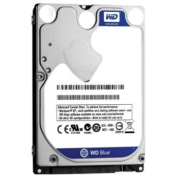 "WD BLUE INTERNAL 2.5"" MOBILE SATA DRIVE, 2TB, 6GB/S, 5400RPM, 2YR"