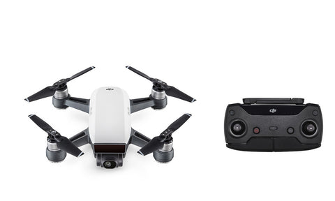 DJI - Spark - Alpine White (with free Remote Control)