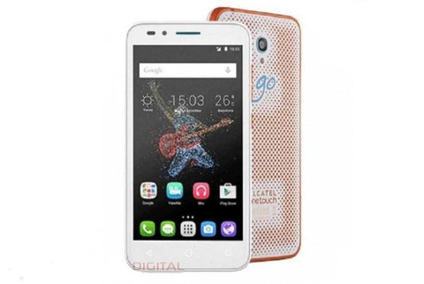 Alcatel Go Play Orange | White