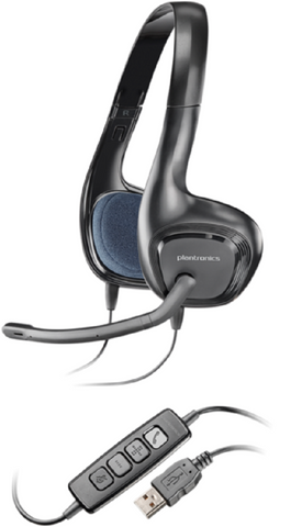 PLANTRONICS .AUDIO 478 DSP PC MULTIMEDIA FOLDABLE STEREO USB HEADSET
