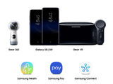 Samsung Gear 360 | Galaxy S8 | 8+ Gear VR | Samsung Health | Samsung Pay | Samsung Connect
