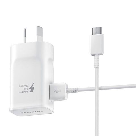 C-Type USB 15W AC Charger AFC - White