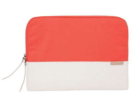 "STM GRACE SLEEVE 15"" - CORAL/DOVE"