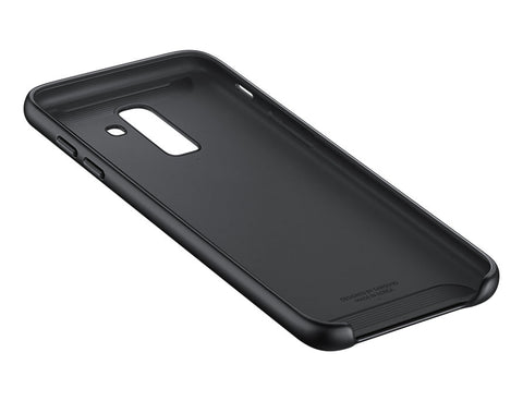 Galaxy J8 Dual Layer Cover - Black
