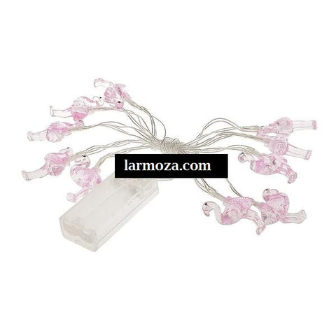 10 Flamingo Decoration Lights