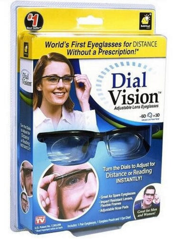 #1 Dial Vision Adjustable Glasses