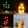 Flamingo Pineapple Cactus LED Light