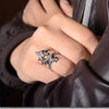 Unisex Vintage Dragon Bronze/Silver Ring*