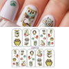 Owl Nail Art Stickers