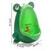 Frog Shape Wall-Mounted Boy's Urinal 4 Colors