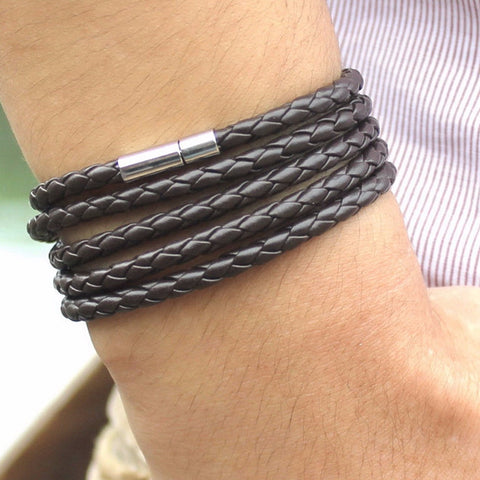 Handmade Synthetic Leather Bracelet