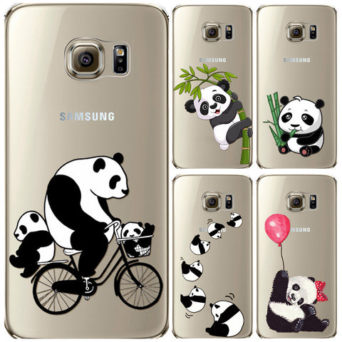 Panda Samsung Case for Samsung Galaxy S6 S6Edge S7 S7Edge