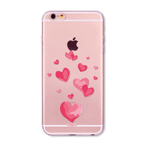 Full of Hearts iPhone Case For iphone 6/ 6S/ 6Plus/ 7/ 7Plus/ 5/ 5S/ SE