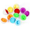 Baby Learning Puzzle Eggs 6 Pieces Per Set