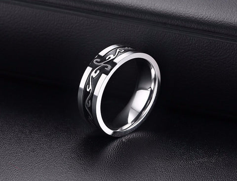 Punk Rock Stainless Steel Ring*