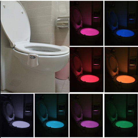 iCreative Toilet Bowl Colorful LED