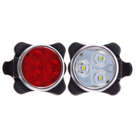 Bike LED Light USB Rechargeable Battery