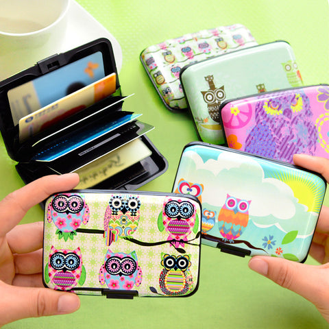 Owl Design Card Holder