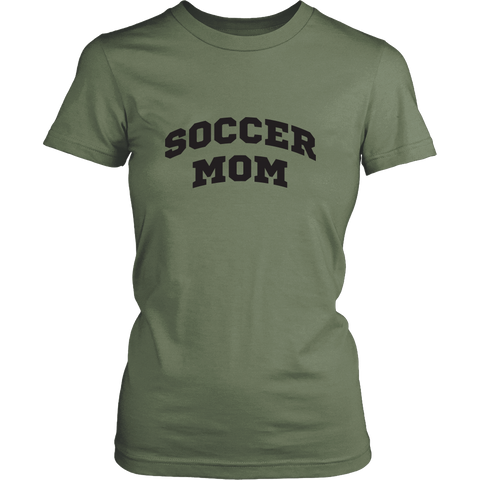 Soccer Mom District Womens Shirt