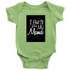 [MOM's Special] I Got It From My Mama Shirts - Baby Onesis Shirt