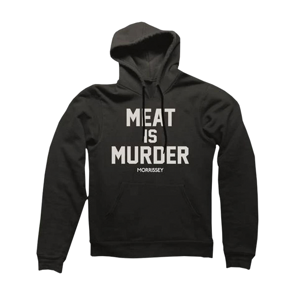 Meat is Murder Black Pullover