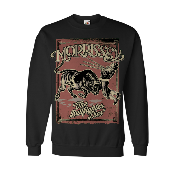 Black Bullfighter Crewneck