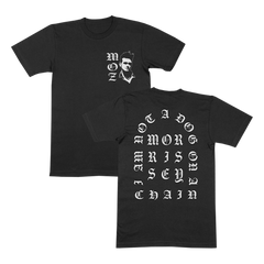IANADOAC Old English Black T-Shirt [PRE ORDER]