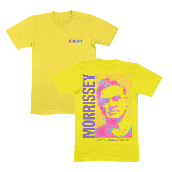 IANADOAC Halftone Yellow T-Shirt