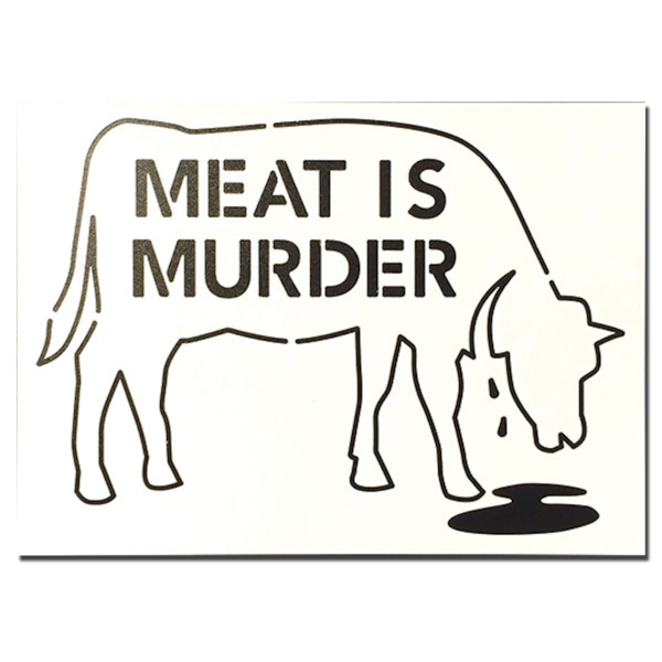 Meat Is Murder Stencil