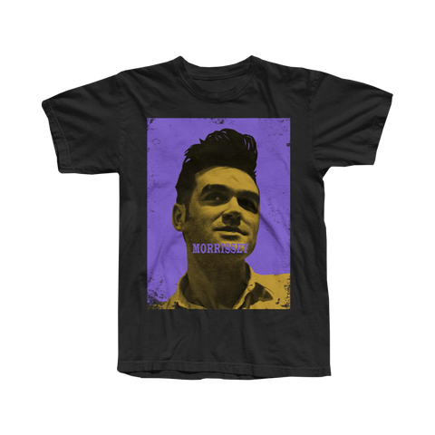 Morrissey purple and yellow day of the dead tee 2020 cinco de mayo exclusive