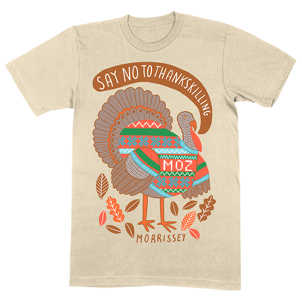 Say No To Thankskilling Natural T-Shirt