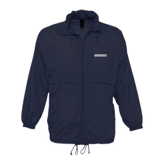 Navy Humdrum Town Windbreaker
