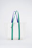 Finder Mesh Tote Bag Small Size White