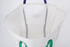 Finder Mesh Tote Bag Large Size White Wallet Pocket
