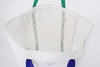 Finder Mesh Tote Bag Large Size White Mesh Pocket