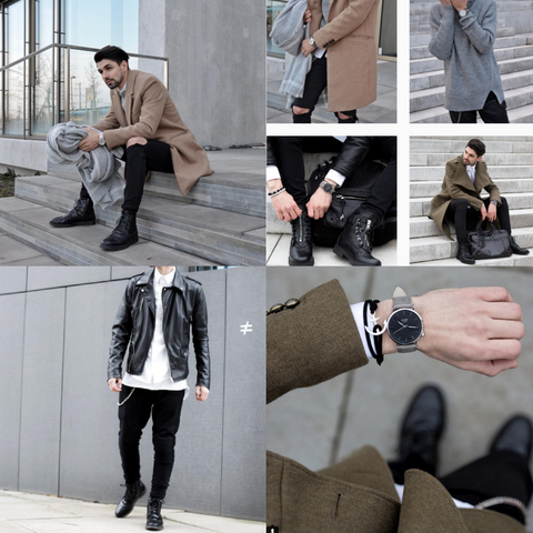 Dima Instagram Images Featuring KANE Watches essential men's watches