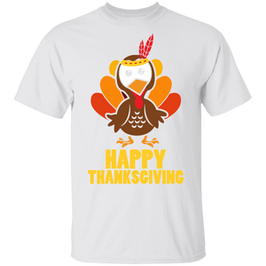 Happy Thanksgiving T-Shirt Funny Turkey Day Shirts - FrankyTee