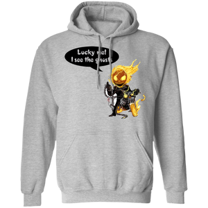 Lucky Me I See The Ghosts Hoodie - FrankyTee