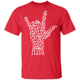 Sign Language T-Shirt Design - Men- Women- and Youth T-Shirt - FrankyTee