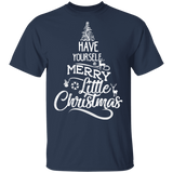 Clearance Tops Printed Letter Christmas Shirt - FrankyTee