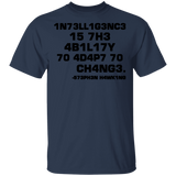 Intelligence Is The Ability To Adapt To Change Shirt - FrankyTee