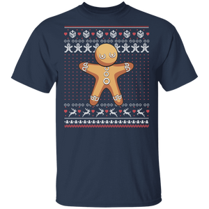 Gingerbread Man Ugly Christmas Cookie Sweater Funny Kid - FrankyTee