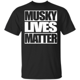 Musky Lives Matter Funny Fishing Shirt - FrankyTee