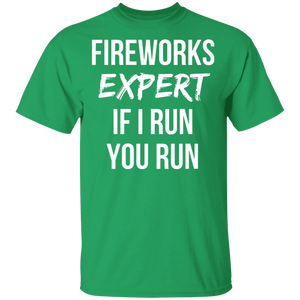 Funny Joke Shirt 4th of July Fireworks T-Shirt for Adults - FrankyTee